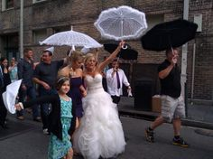 Wedding Parade New Orleans...I have witnessed on the streets of NOLA and it is quite a sight to see.....