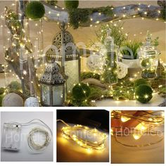 Frugal 1-5m Fairy Light Cr2032 Battery Powered Led Mini Christmas Light Copper Wire String Light For Wedding Xmas Garland Party Indoor Lights & Lighting Led String