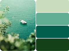 Teal + Green my favorite color...