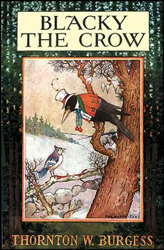 Blacky the Crow by Thornton Burgess. One of my Grandmother's favorite books from her childhood... C.S.