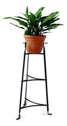 Enclume Premier 3Tier Plant Stand Pot Rack Hammered Steel ** Check this awesome product by going to the link at the image.