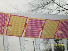 Pink Lemonade Photo Banner. $26.00, via Etsy.