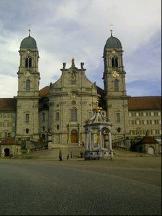 Kloster Einsiedeln en Einsiedeln, Schwyz