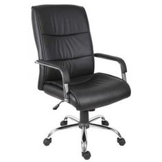 medlin home ergonomic office chair in lime green faux leather and