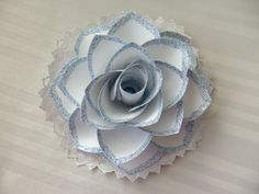 Handcrafted beautiful flower. by LePapierCraftCottage on Etsy,