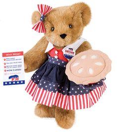 "15"" Mom for President Bear from Vermont Teddy Bear. $69.99. #MothersDay"