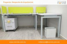 #Norvid #Diseño #muebles #mobiliario #interiorismo #oficinas #Proyecto  Les presentamos el proyecto que tuvimos en Bosques de Ciruelos con nuestra línea #Dynamic en área operativas con módulos en L, y bancada. Fabricadas en laminado plástico color blanco y toques de color en verde lima.  La línea dynamic se adapta a las necesidades de #espacio y #diseño que requiere.  Más info en www.norvid.com.mx 56 15 44 88 VISTE NUESTRO SHOWROOM: Insurgentes Sur 1571, Loc. 1, San José Insurgentes, 0390