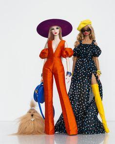 Barbie Dress, Barbie Clothes, Fashion Royalty Dolls, Fashion Dolls, Barbies Pics, Beautiful Barbie Dolls, Poppy Parker, Little Doll, Barbie World