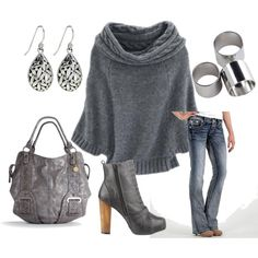 Shades of Gray, created by melcata on Polyvore