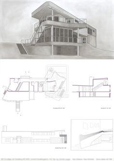 Hans Scharoun - Haus Schminke by Q-Brt.deviantart.com on @deviantART