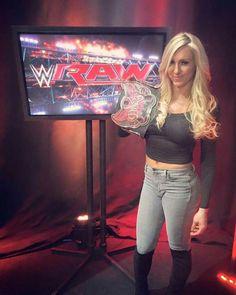 2016 Divas Champion: Charlotte Flair (WWE).