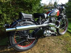1938 Ariel Red Hunter Twin Port from Venture