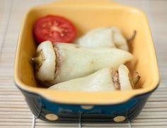 Есть, чтобы похудеть - What Sonia eats  В результате на шесть вот таких перчика по 50 г берем: ·         нежирное мясо 130 г; ·         цветная капуста 80 г; ·         лук 40 г; ·         томатная паста 15 г (ст.л.).