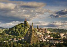 "in Auvergne region boasts 11 ""Most beautiful villages of France"", 45 castles witch make part of the ""Route historique des châteaux d'Auvergne"", 10 spa towns and numerous internationals festivals. Fancy a trip there? Places To Travel, Places To Visit, Saint Michel, Next Holiday, Chapelle, France Travel, San Francisco Skyline, Monument Valley, Paris Skyline"