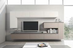 Гостинная - стена с телевизором