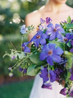 Colorful Bouquet from ElegantBridals via Once Wed