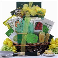 Gardening Basket Gift Ideas little sprouts gift basker Gardeners Delight Gift Basket