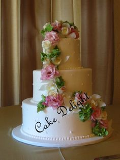 Gorgeous! Cake Delight! 147 N. Livermore Ave., Ste. B  925-373-7786  www.cakedelight.com Our Wedding, Wedding Cakes, Desserts, Food, Wedding Gown Cakes, Tailgate Desserts, Deserts, Essen, Cake Wedding