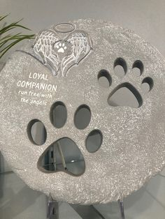 Pet Memorial Garden Stone by Roman Roman Garden, Memorial Garden Stones, Pet Memorials, Pets, Animals And Pets