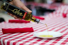Chef Anthony uses the finest olive oil, made from olives in his home town outside of Sicily.