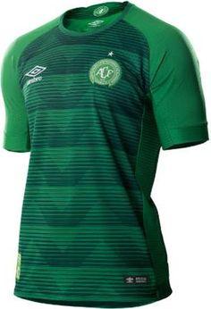 The new Chapecoense 2017-18 jerseys introduce unique designs. Camisas De  Futebol 50a5aaa07fc68