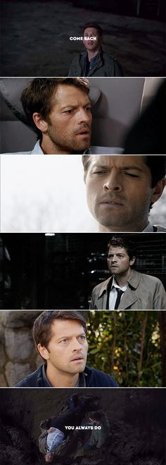 Please bring him back ;-; as himself and not some messed up alternate Cas