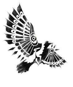 3c593f242 Marquesan Tattoos, Tatoo Art, Tattoo Bird, Raven Tattoo, Body Art Tattoos,