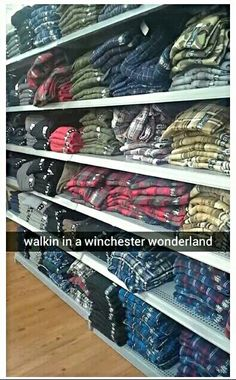 Hellhounds howl, are ya listenin? In the warehouse, blood is glistenin. A gory death scene, here come Sam and Dean. Walkin in a Winchester wonderland.