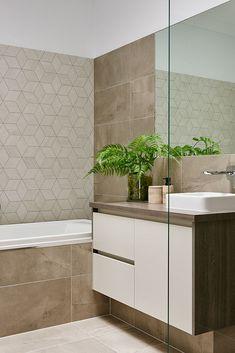 Hamlan Homes bathroom Building Ideas, Building A House, Grand Designs, Double Vanity, Bathrooms, House Ideas, Floor Plans, Homes, Bath