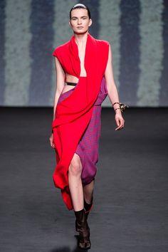 Christian Dior Fall 2013 Couture Collection Slideshow on Style.com oh si mi sono infilata uno straccio colorato...