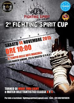 2° Fighting Spirit Cup - Roma 14 novembre