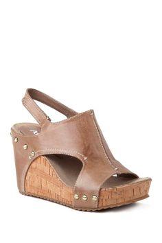 Slingback Leather Sandal by Antelope on @nordstrom_rack