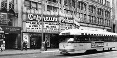 ORPHEUM Theatre. Broadway, Los Angeles - Vintage Photo, 1963 ...