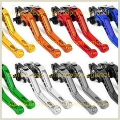 For Vespa Drum Brake PX80-200/PE/Lusso , PX/COSA/T5/LML Short 3D Clutch Brake Levers CNC Adjustable