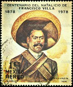 MEXICO - CIRCA A stamp printed in Mexico commemorates the centenary of the birth of Pancho Villa, circa 1978 - stock photo Pancho Villa, Old Stamps, Vintage Stamps, Mexican Revolution, Postage Stamp Art, Stamp Printing, Small Art, My Stamp, Stamp Collecting
