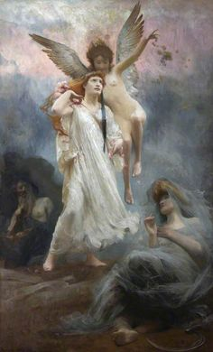 ♥♥♥Persephone by Arthur Hacker Oil on canvas, 272 x 165 cm Collection: Oldway Mansion, Torbay Council