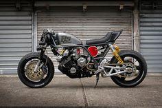 Road Bomber: a brutal custom' Honda CBX1000 by Bad Seeds MC. - Bike EXIF
