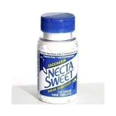 Necta Sweet Saccharin Tablets, 1/2 Grain, 1000 Tablet Bottle (Pack of 4) * Learn more by visiting the image link.