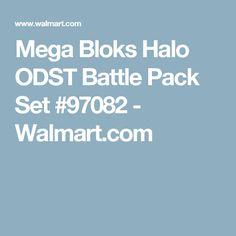 Mega Bloks Halo ODST Battle Pack Set #97082 - Walmart.com