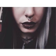 Want that septum ring!