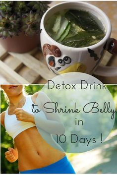 My belly is flat in only 10 days.. this is the most effective detox drink I've had so far !