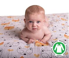 #wow Does #your baby have trouble sleeping? #Mowgli Joe Muslin Swaddle Blankets mimic the restrictive and safe nature of the womb to safely help your baby get to ...