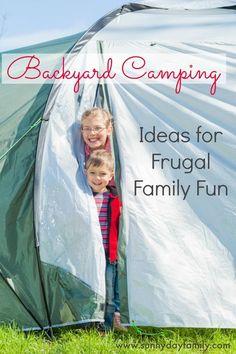 Camping ideas, camping with kids, family camping, camping hacks,