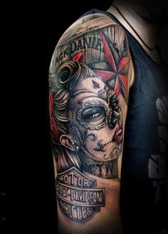 73de22ef33991 Pinterest | Avengers Tattoo Harley Davidson Tattoos and Biker Tattoos  Harley Tattoos,