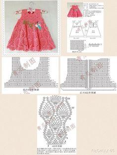 Smocking Patterns Baby Patterns Crochet Motifs Crochet Patterns Baby Girl Dresses Baby Dress Crochet For Kids Baby Knitting Macrame Image gallery – Page 307863324526319619 – Artofit Crochet Vest Pattern, Crochet Fabric, Crochet Diagram, Crochet Patterns, Crochet Yoke, Crochet Toddler Dress, Baby Girl Crochet, Crochet For Kids, Smocking Patterns