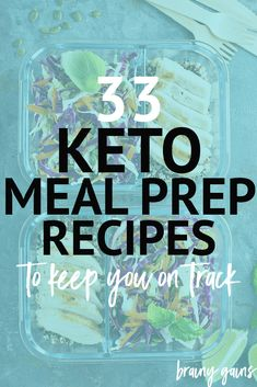 Meal prep gives you the ability to reach for a home-cooked meal anytime of the day, allowing you to eat healthy meals while sticking to your macros. These low carb recipes are great for keto meal prep and will leave you satisfied and full, all while staying on track with your goals.