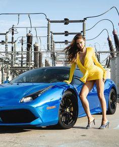 Pin Up, New Ferrari, Street Trends, Hot Rides, Amazing Cars, Awesome, Car Girls, Photography Women, Bonbon