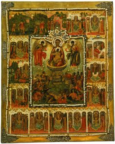 Byzantine Art, Rembrandt, Ikon, Bohemian Rug, Painting, Virgin Mary, Decor, Religious Art, Decoration