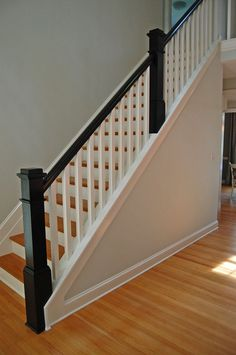 Beautiful Stair Railings Interior #7 Interior Wood Stair Railing Kits