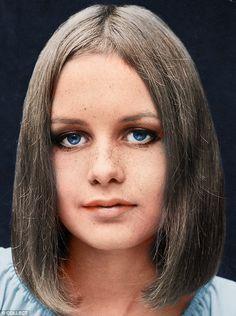 1965: A mousey bob, aged 15...
